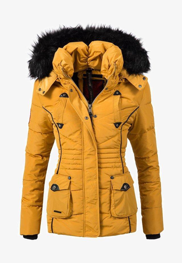 VANILLA - Winter jacket - yellow