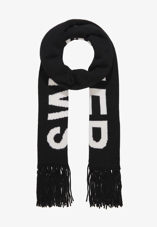 LOGO SCARF - Sjal / Tørklæder - black/white
