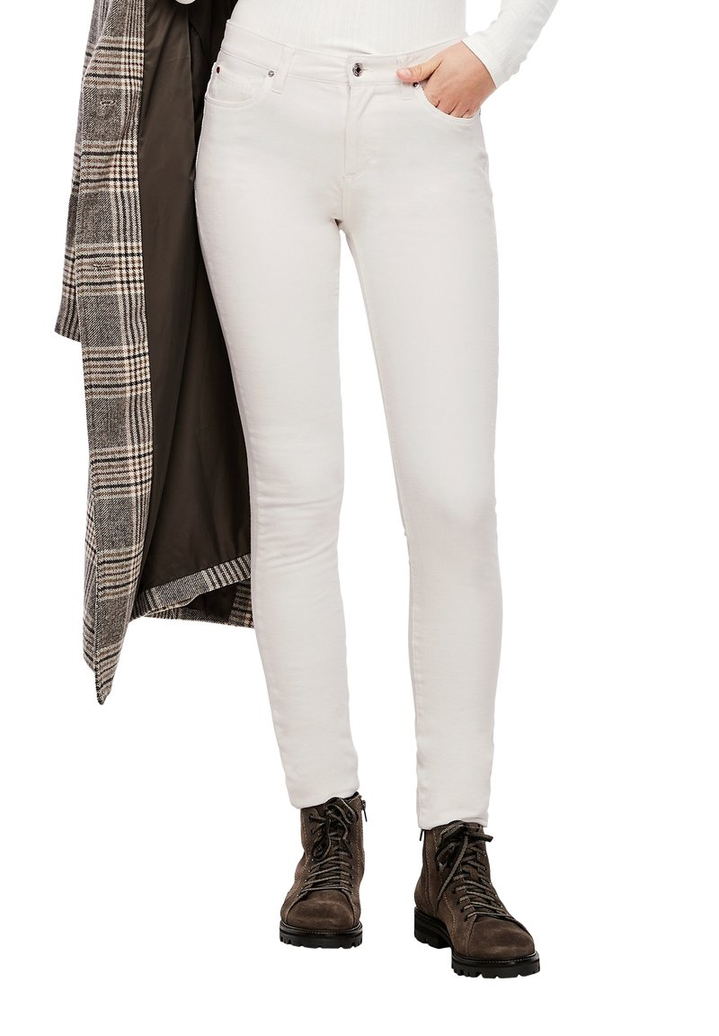s.Oliver - Trousers - cream