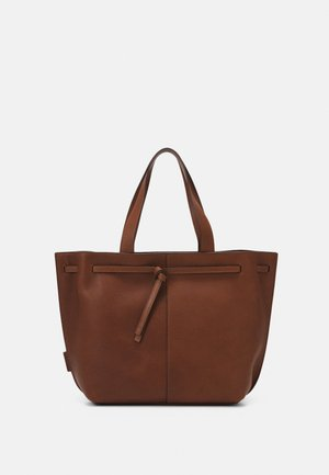 GULIA - Tote bag - maroon brown