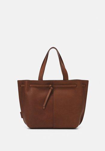 GULIA - Tote bag - maroon brown