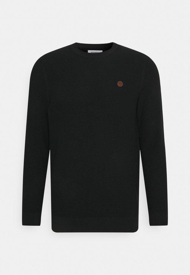 ESTRUCTUR - Pullover - black