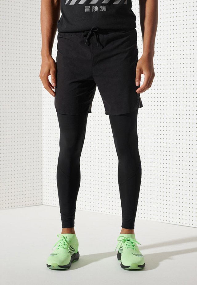 RUN AIRFLOW - Shorts - black
