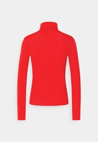 Gina Tricot - GIANNA POLO - Long sleeved top - racing red - 1