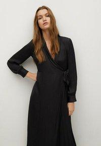 Mango - PASQ-A - Denní šaty - schwarz - 2