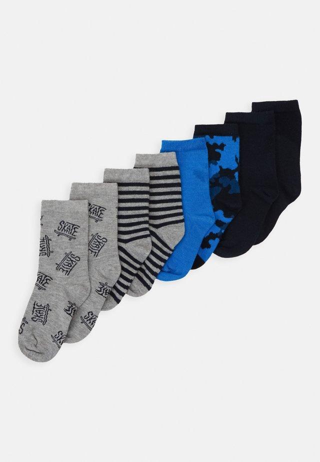NKMVAKS SOCK  8 PACK - Ponožky - grey melange