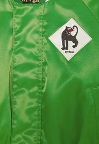 Mini Rodini - PANTHER BASEBALL JACKET UNISEX - Lehká bunda - green - 2