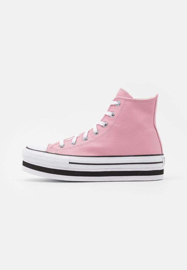 CHUCK TAYLOR ALL STAR PLATFORM LAYER - High-top trainers - lotus pink/white/black