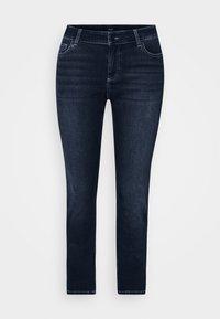 JPOSH LONG SANNA - Jeans Skinny Fit - dark blue denim