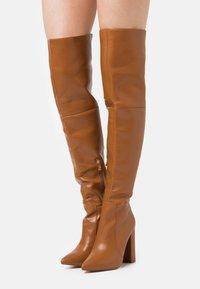 RAID - GRESHA - High heeled boots - tan - 0