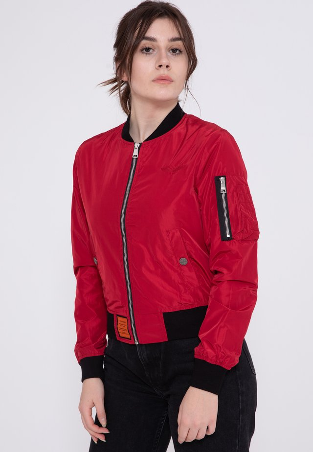 MA1 - Bomber Jacket - red