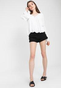 Dr.Denim - JENN  - Denim shorts - black - 1