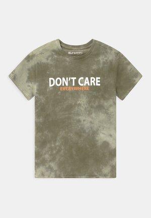 BOYS - T-shirt print - dunkelgrün