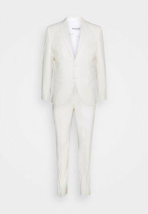 SLHSLIM MYLOLOGAN OFF SUIT SET - Suit - egret