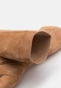 Steve Madden - NINNY - Laarzen met hoge hak - camel - 5