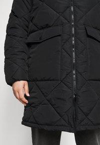 Noisy May Curve - NMFALCON LONG JACKET - Winter jacket - black - 5