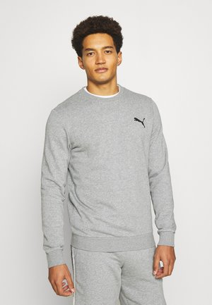 SMALL LOGO CREW - Felpa - medium gray heather
