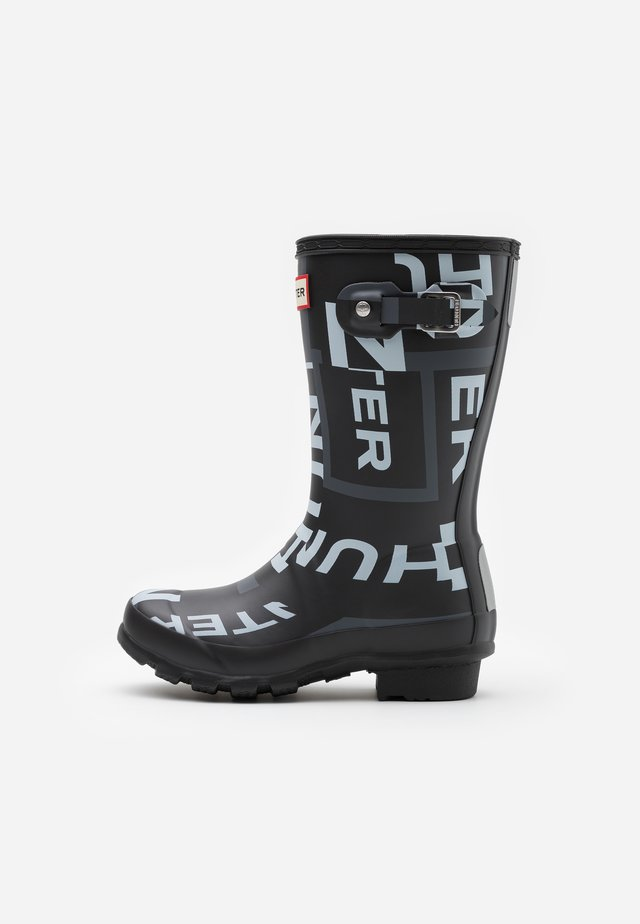 ORIGINAL KIDS EXPLODED LOGO - Wellies - black