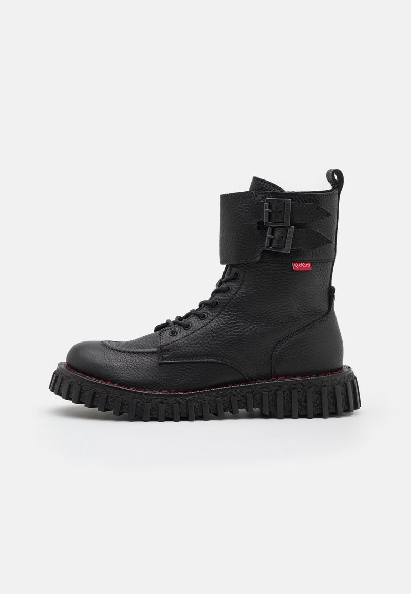 Kickers - AKROPOL - Lace-up ankle boots - noir