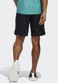 adidas Performance - ALL SET 2 DESIGNED2MOVE SHORTS - Short - black - 1