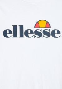 Ellesse - YANDIA UNISEX - Bluzka z długim rękawem - white - 2