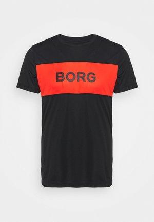 ATOS TEE - T-shirt med print - black beauty