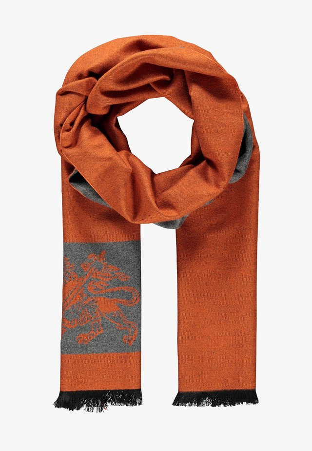 Scarf - dark pumpkin