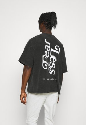 BOLD VINTAGE UNISEX - Print T-shirt - black