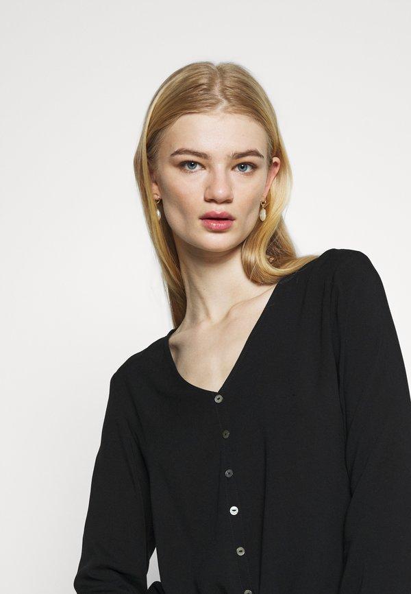 ONLY ONLNINA - Bluzka - black/czarny GXDM