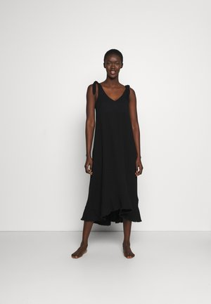 BEACH EDIT ESPLANADE SLIP DRESS - Akcesoria plażowe - black