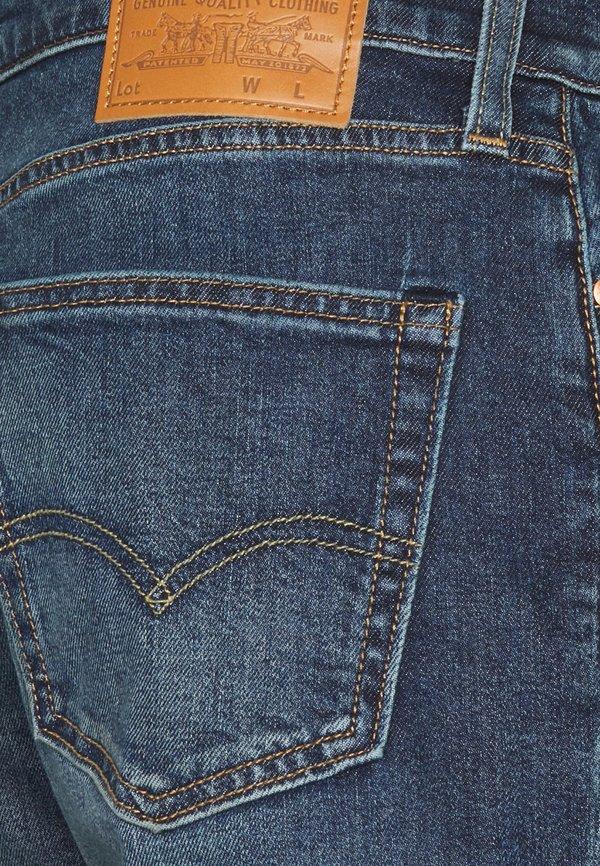 Levi's® 511™ SLIM - Jeansy Slim Fit - dark indigo/ciemnoniebieski Odzież Męska OGPG
