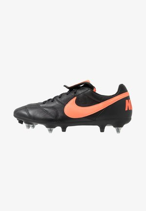 THE PREMIER II SG-PRO AC - Screw-in stud football boots - black/hyper crimson