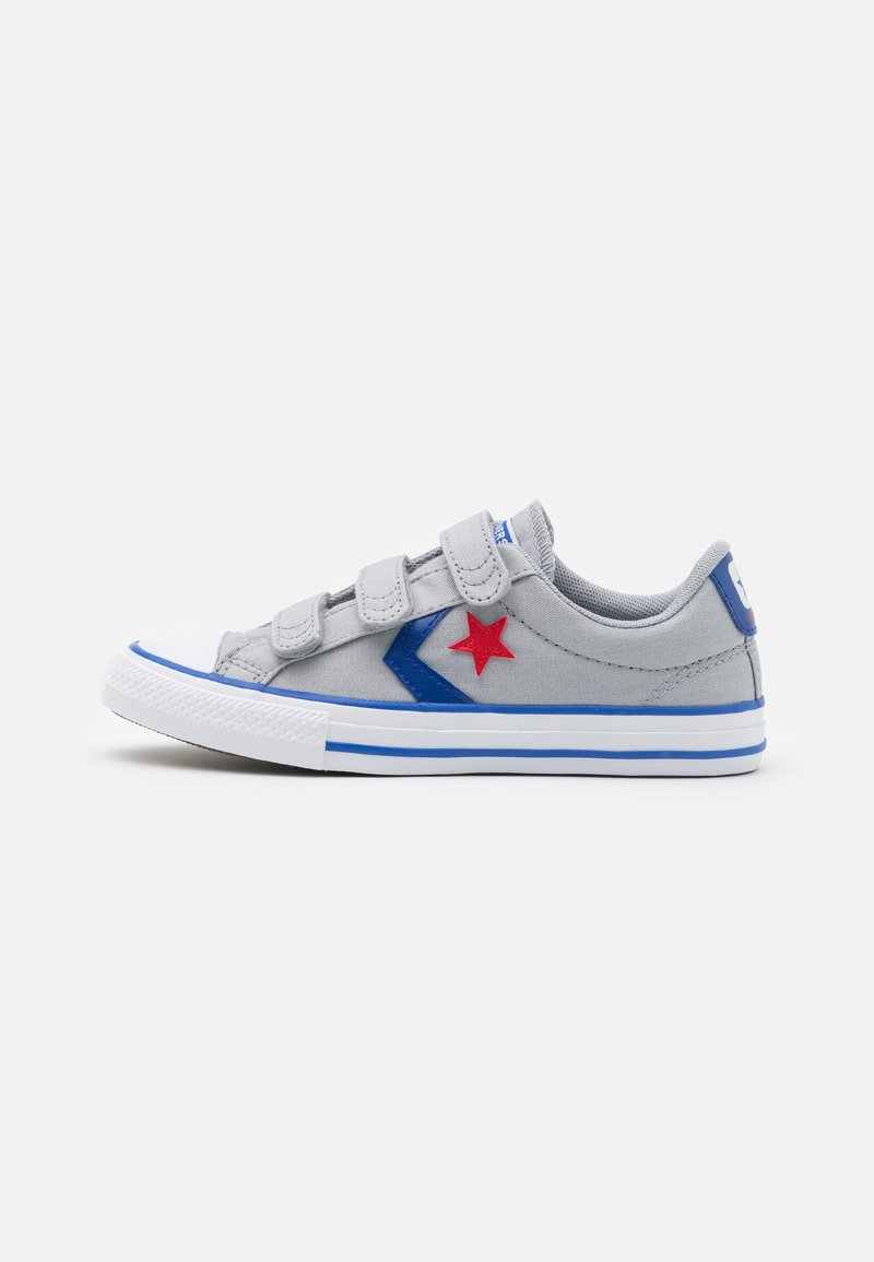Converse - STAR PLAYER 3V UNISEX - Trainers - wolf grey/blue/enamel red
