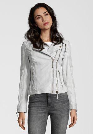 LEDERJACKE MUFFIN - Leren jas - off white