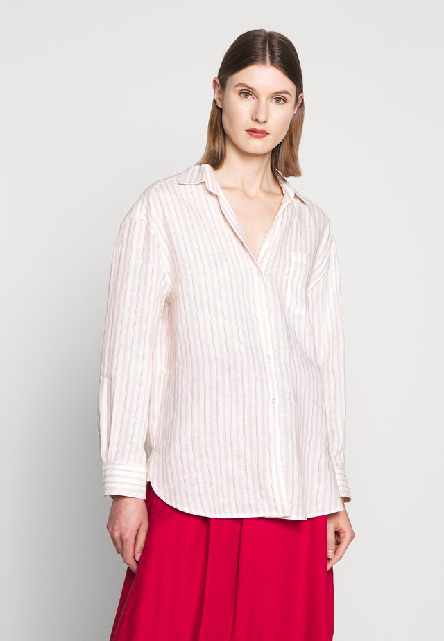 BASILIO - Button-down blouse - rosa