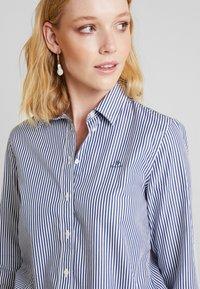 GANT - THE BROADCLOTH BANKER - Button-down blouse - indigo blue - 5