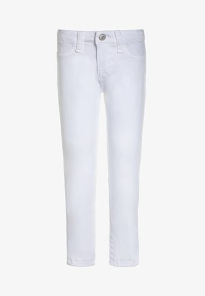 BOTTOMS - Vaqueros pitillo - white