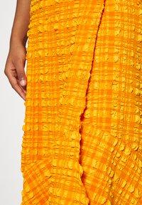 Monki - LANE SKIRT - Wrap skirt - orange - 5