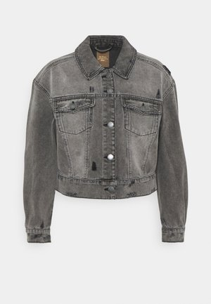 ONLMALIBU JACKET - Denim jacket - medium grey denim