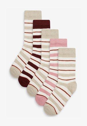 FOUR PACK - Socks - off-white