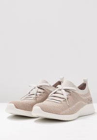 Skechers Sport - ULTRA FLEX - Mocasines - taupe/gold/offwhite - 4