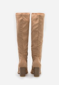 Nly by Nelly - BLOCK KNEE HIGH BOOT - Boots - beige - 3