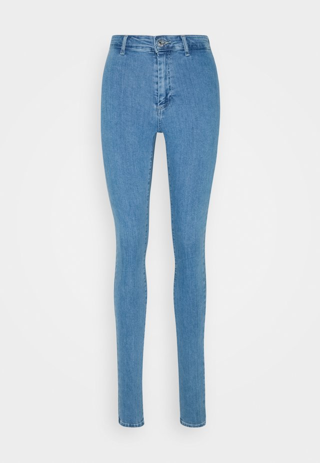 ONLBLUSH LIFE BOX - Skinny džíny - light blue denim
