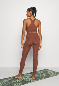 Monki - Collants - brown medium dusty - 2