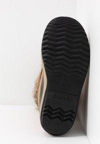 Sorel - JOAN OF ARCTIC - Zimní obuv - camel brown/black - 6