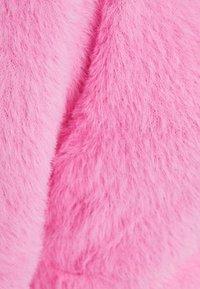 Bershka - FUZZY - Kardigan - neon pink - 5