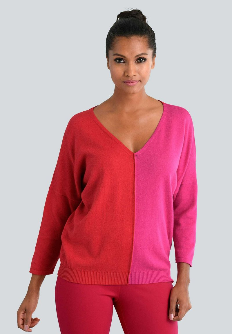 Alba Moda - Jumper - rot,pink