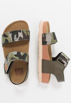 GEDINNE - Sandals - khaki