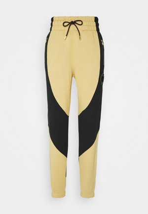PANT - Tracksuit bottoms - club gold/black