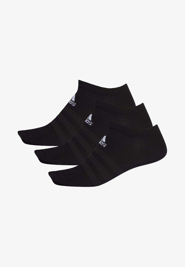adidas Performance - LIGHT NO SHOW 3 PAIR PACK - Sportsokken - black
